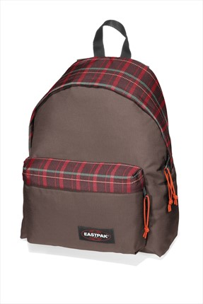 Eastpak Unisex Padded Re Check Brown Çanta