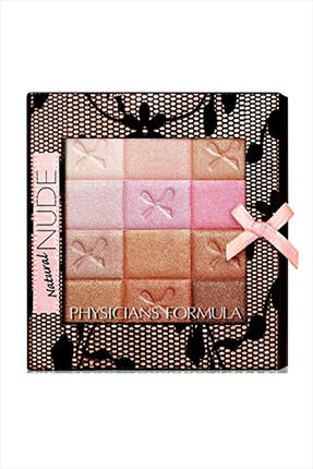 Physicians Formula Pudra - Shimmer Strips All-in-One Custom Palette Natural Nude 0044386062405