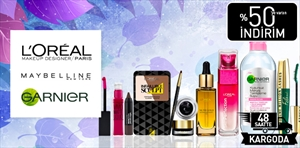 L'Oreal Paris & Maybelline New York & Garnier