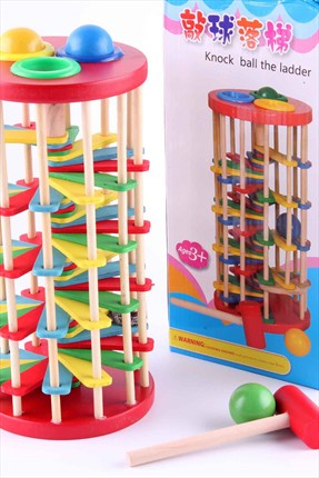 Learning Toys Knock Ball The Ladder /
