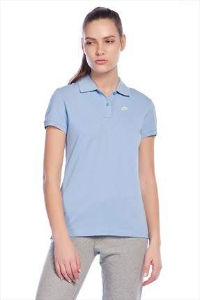 Nike,Nike Polo Yaka T-shirt,Nike Polo Yaka T-shirt - Regular Fit Washed Polo