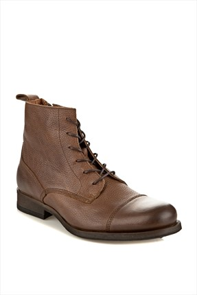 Jack & Jones,Jack & Jones Bot,Jack & Jones Bot - Ernest Leather -