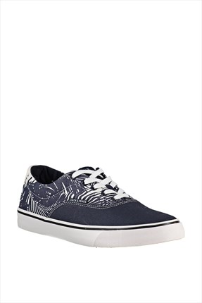 Jack & Jones,Jack & Jones Ayakkabı,Jack & Jones Ayakkabı - Surf Canvas Print Low Sneaker -