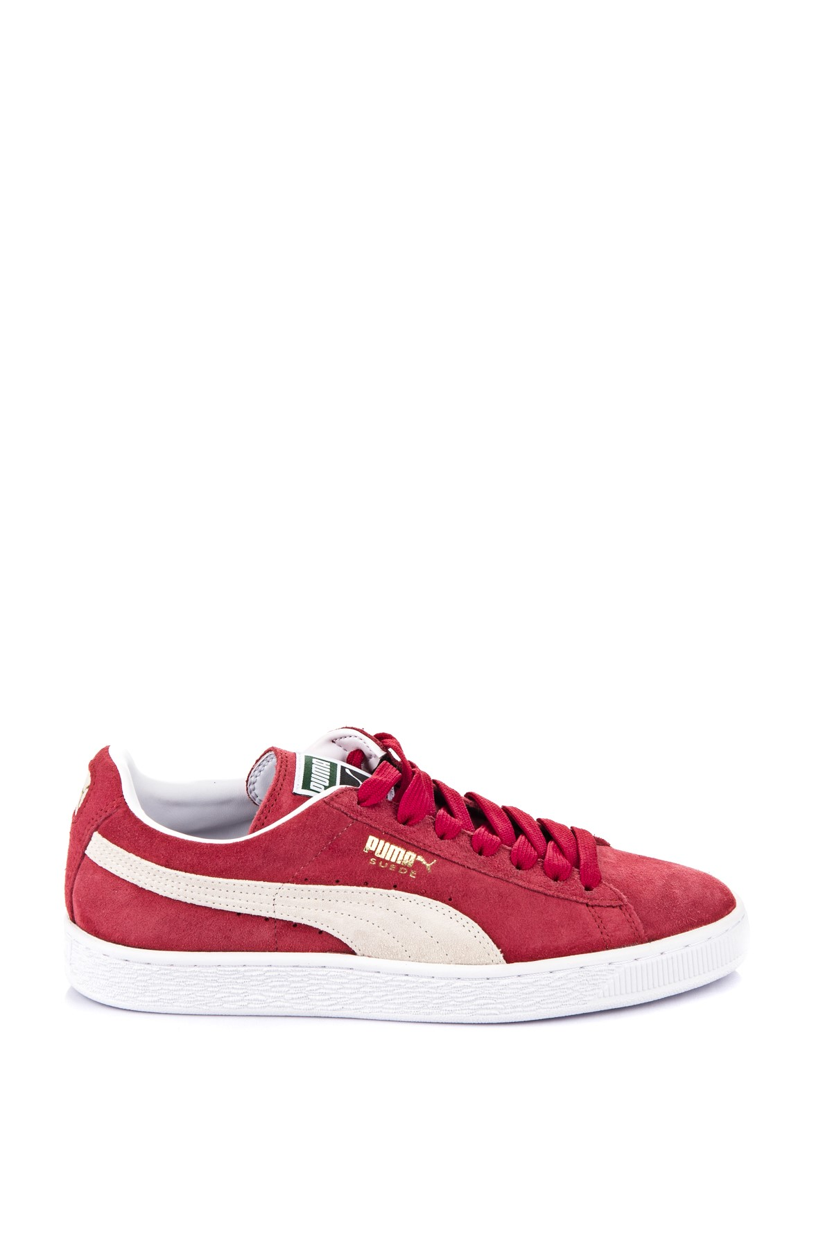 Puma Unisex Ayakkabı - Suede Classic+ Team Regal Red-white 35263405