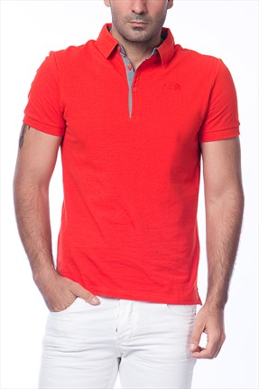 THE NORTH FACE,THE NORTH FACE Polo Yaka T-shirt,THE NORTH FACE M Premium Polo Yaka T-shirt