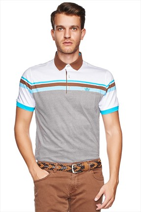 Beymen Business,Beymen Business T-shirt,Beymen Business Erkek Polo Yaka T-Shirt -