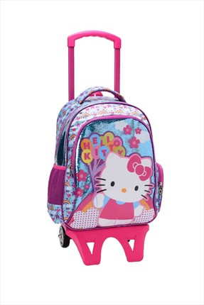 Hello Kitty Hello Kitty Kabartmalı Çekçek Çanta (Hakan Çanta 87571) /