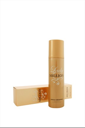 Paco Rabanne Lady Million 150 ml Kadın Deodorant 3349668508525