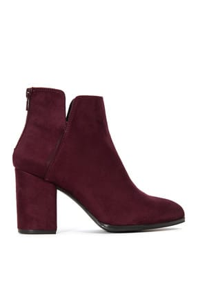 Nine West Bordo Kadın Bot & Bootie 109031