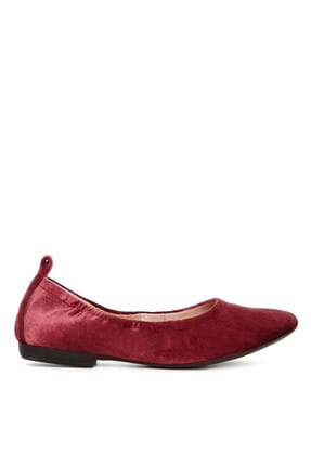 Nine West Bordo Kadın Babet 100399