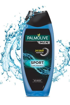 Palmolive Men Sport 500 ml + Böğürtlen Duş Jeli 2 x 500ml + DuşLifi