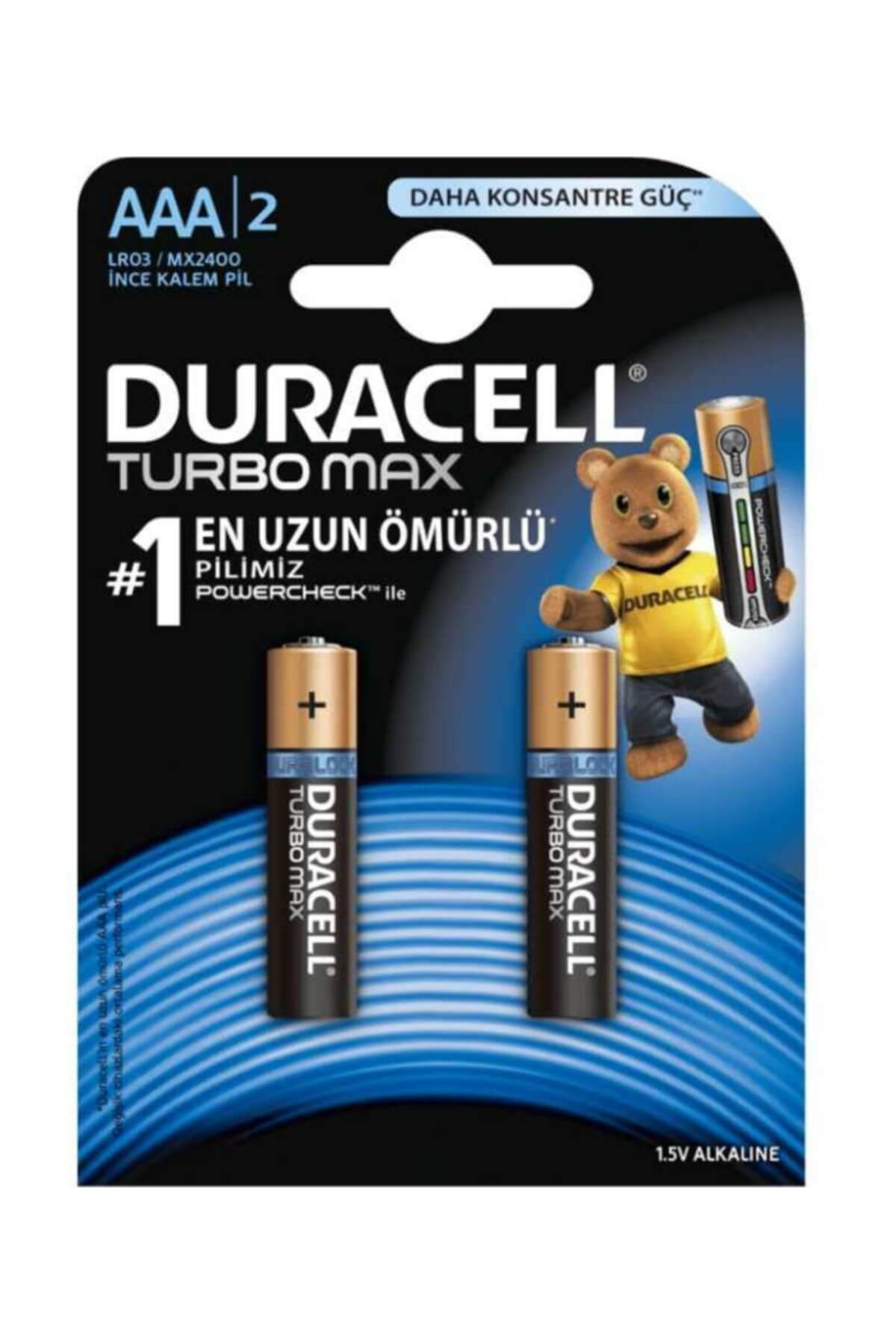 Duracell Pil Turbo İnce