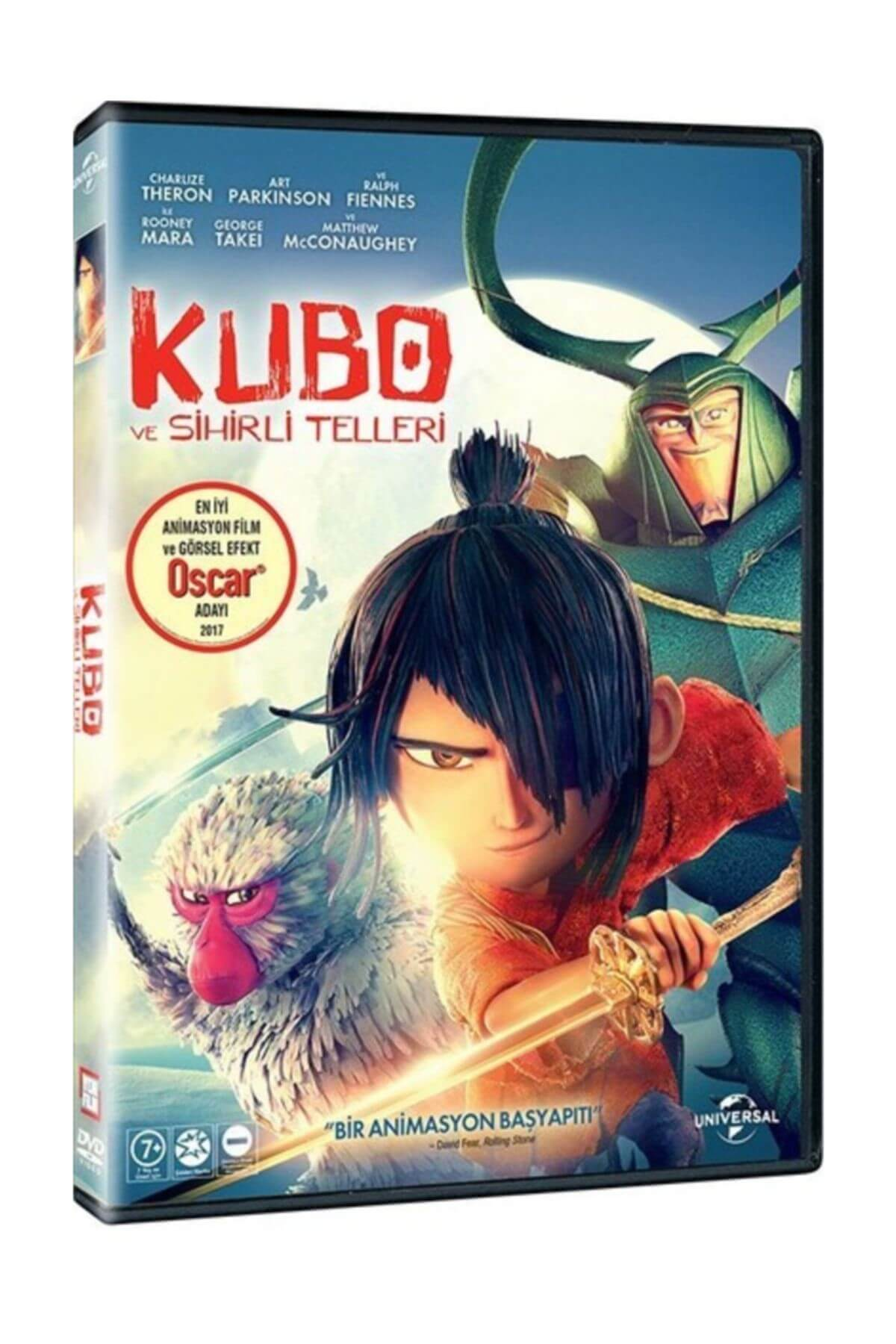 Yeni Film Dvd Kubo Ve Sihirli Telleri   And The Two