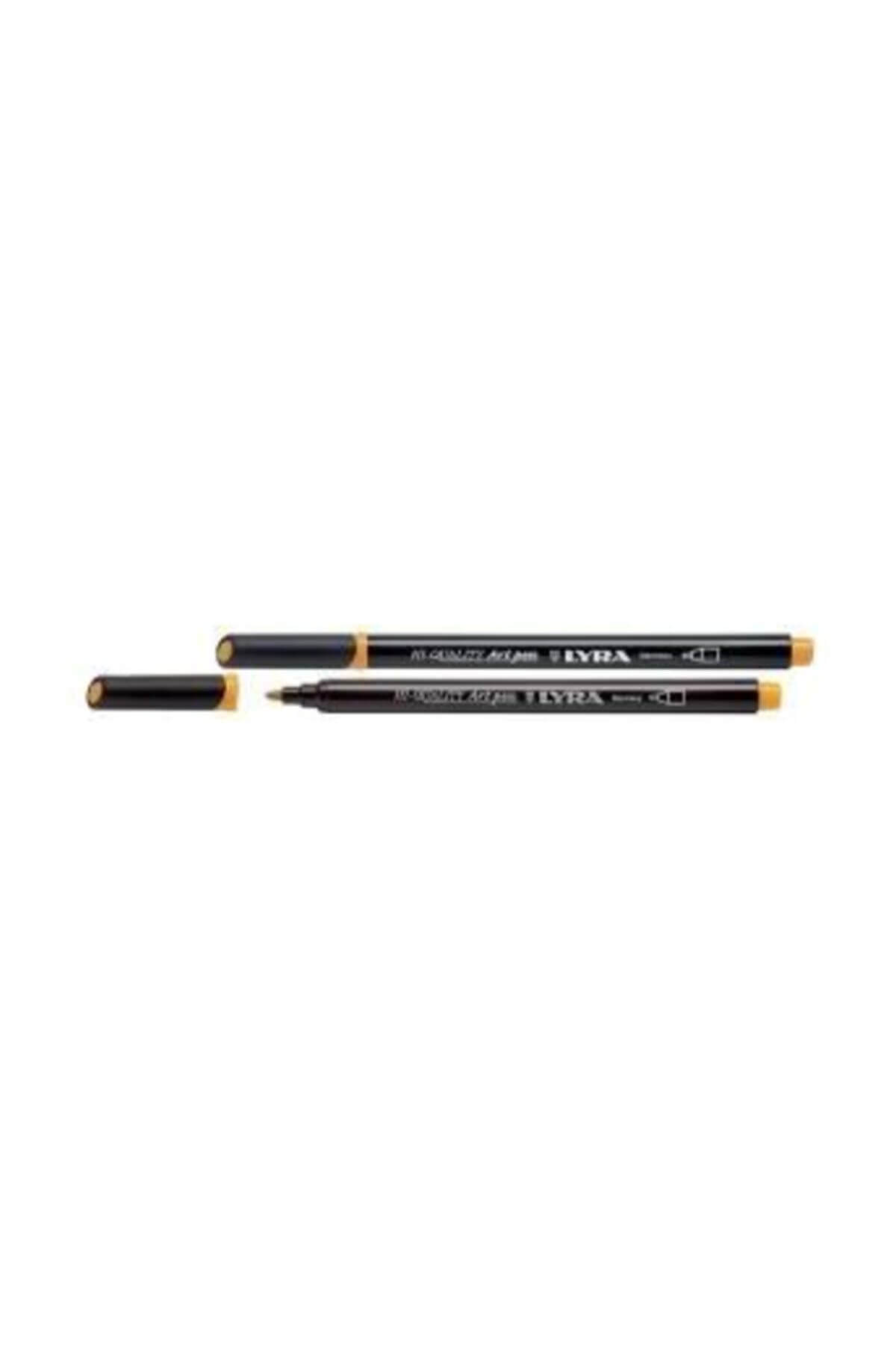 Lyra Hi Quality Art Pen çizim Ve Boyama Kalemi Orange Yellow