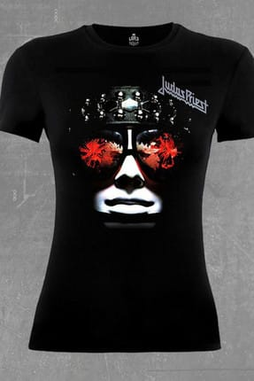 Lord Judas Priest Siyah Bayan Tshirt - bs-80