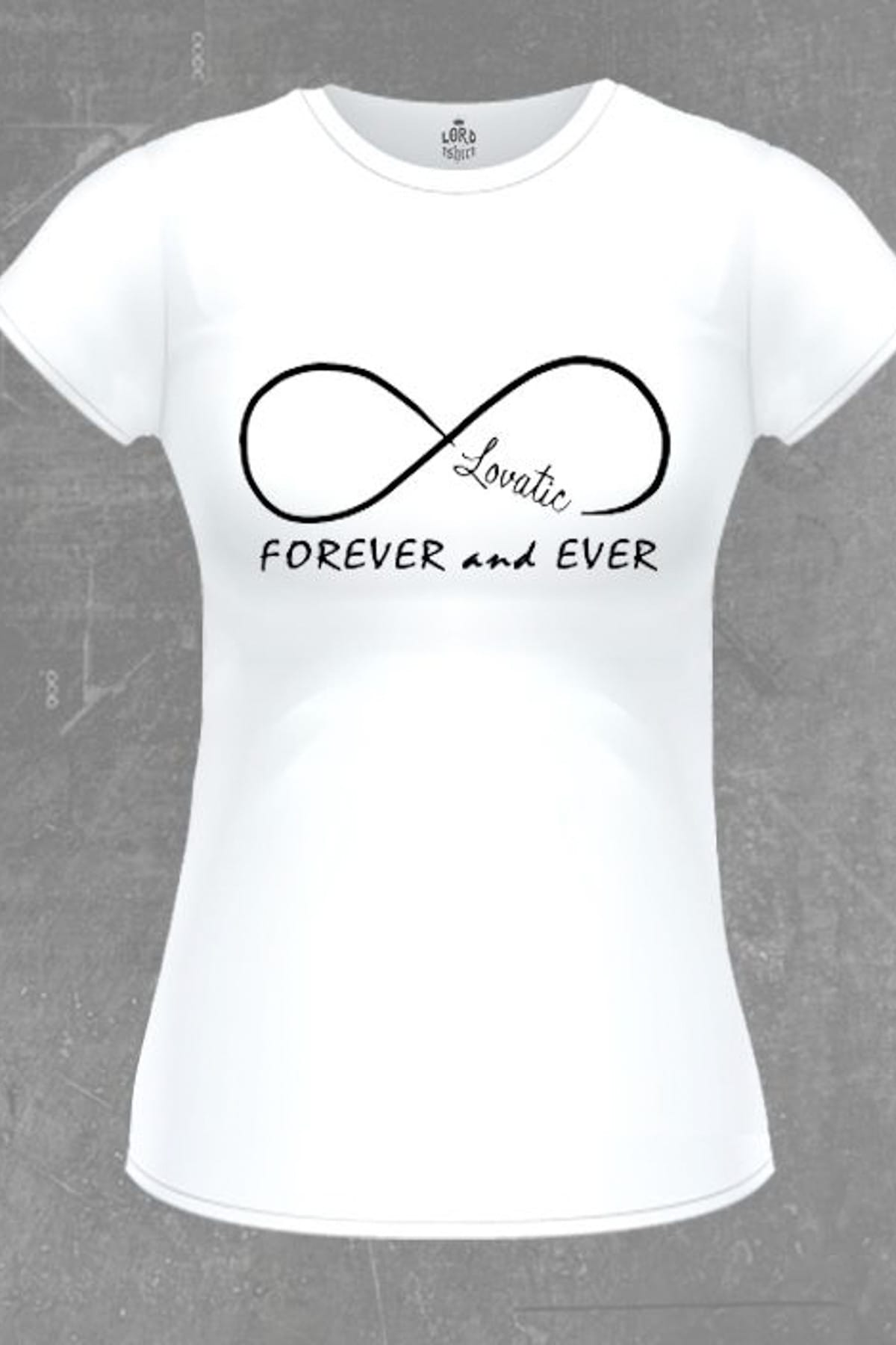 Lord T-shirt Demi Lovato – Forever And Ever Beyaz Bb-98 – 49.9 TL