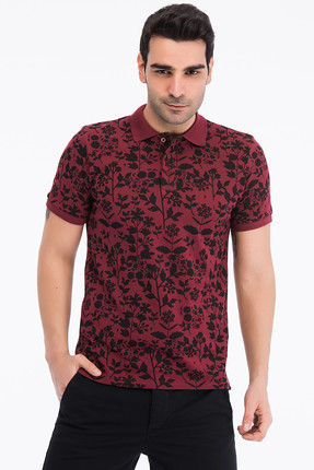 Jack & Jones Polo Yaka T-shirt - Trust Original Polo AOP SS 12139678