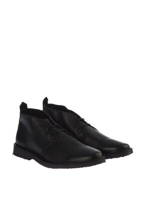 Jack & Jones Deri Bot - Gobi Leather Black 12140771