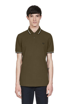 Fred Perry Erkek Twin Tipped -M3600 Polo Yaka T-Shirt