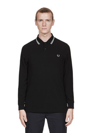 Fred Perry Erkek Twin Tipped M3636 Polo Yaka Sweatshirt 183FRPEPTS3636