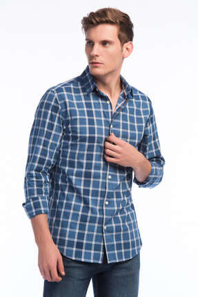 Jack & Jones Gömlek - Houston Core Shirt L/S Button Down 12138065
