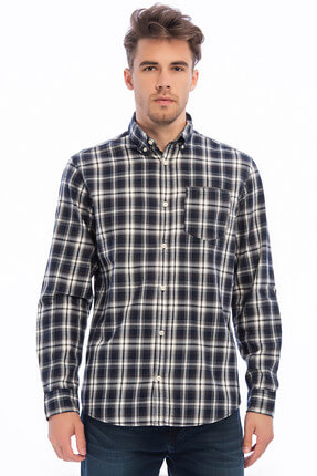Jack & Jones Gömlek - Central Core Shirt LS One Pocket 12141802