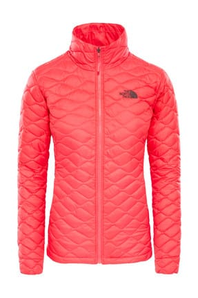 The North Face The North Face Thermoball Hooded Insulated Kadın Mont Pembe