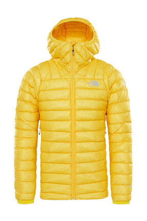 The North Face The North Face Summit L3 Down Hoodie Erkek Mont Sarı