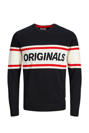 Jack & Jones Kazak - Strike Original Knit Crew Neck 12144564