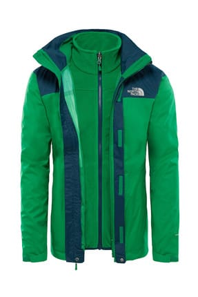 The North Face The North Face Evolve II Triclimate Erkek Mont Yeşil