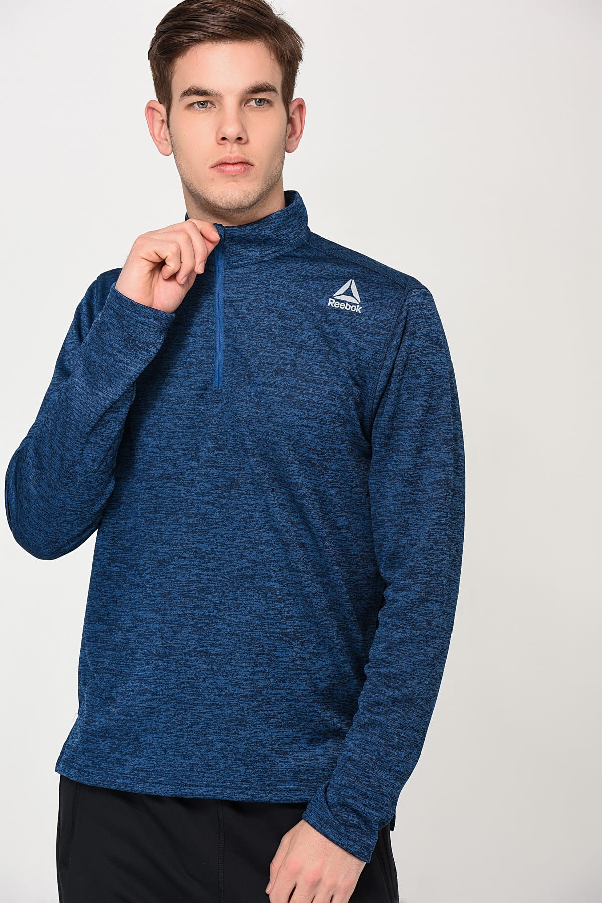 Reebok Erkek Sweatshirt   Us Double Knit 1 4