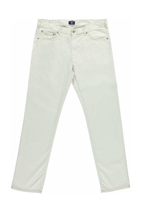 Gant Erkek Krem Regular Fit Pantolon 1012109