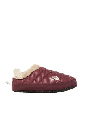 The North Face The North Face Thermoball Tent Mule Faux Fur IV Kadın Terlik Bordo