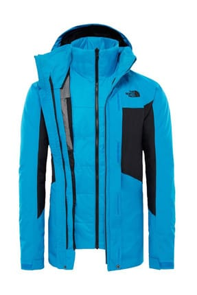 The North Face The North Face Clement Triclimate Erkek Mont Mavi/Siyah