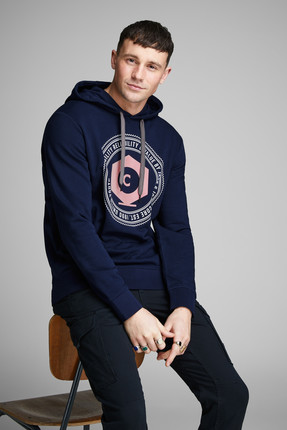 Jack & Jones Sweatshirt - Frank Core Sweat Hood 12148631