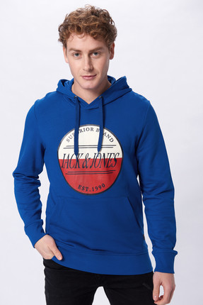 Jack & Jones Sweatshirt - Art Original Chapo Sweat Hood 12150233