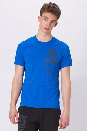 Reebok Erkek T-shirt - Activchill Zoned Graphic - CE6492
