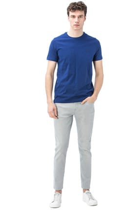 Nautica Erkek Gri Denim Slim Fit Pantolon