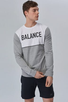 New Balance Erkek Sweatshirt - Men Sweatshirt - MTC1817-AG
