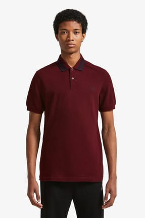 Fred Perry Erkek Polo T-shirt Bordo 191FRPEPTS4528