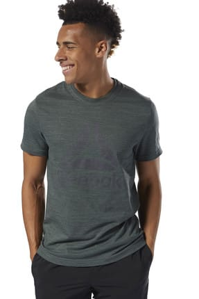 Reebok Erkek T-Shirt Elements Marble Group Tee - D94169
