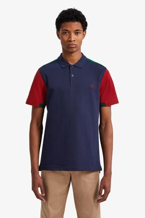 Fred Perry Erkek Polo T-shirt Lacivert 191FRPEPTS5576