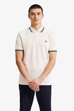 Fred Perry Erkek Polo T-shirt Krem 191FRPEPTS3600