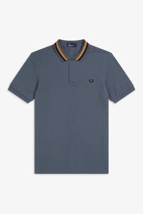 Fred Perry Erkek Polo T-shirt Gri 191FRPEPTS5570