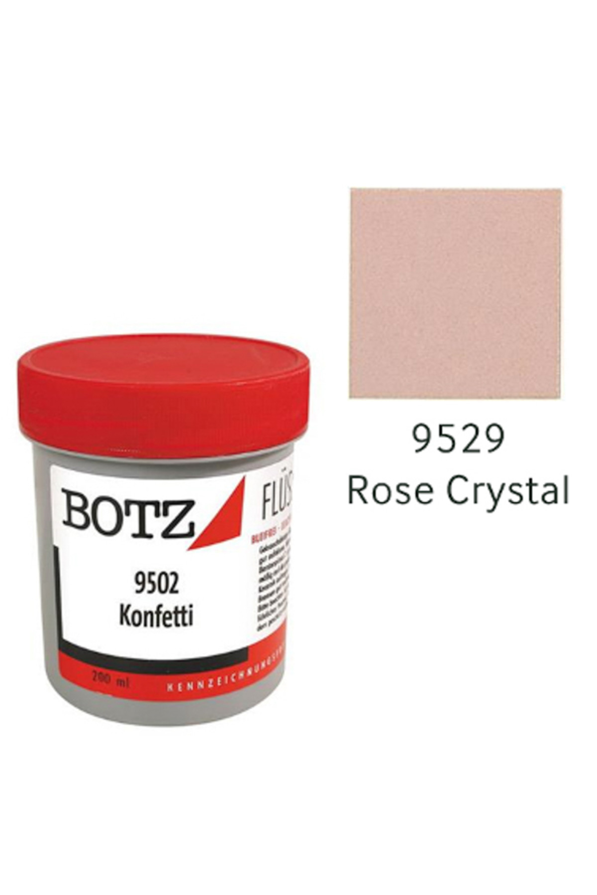 Botz Sır Boyası 200ml N:9529 Rose Crystal