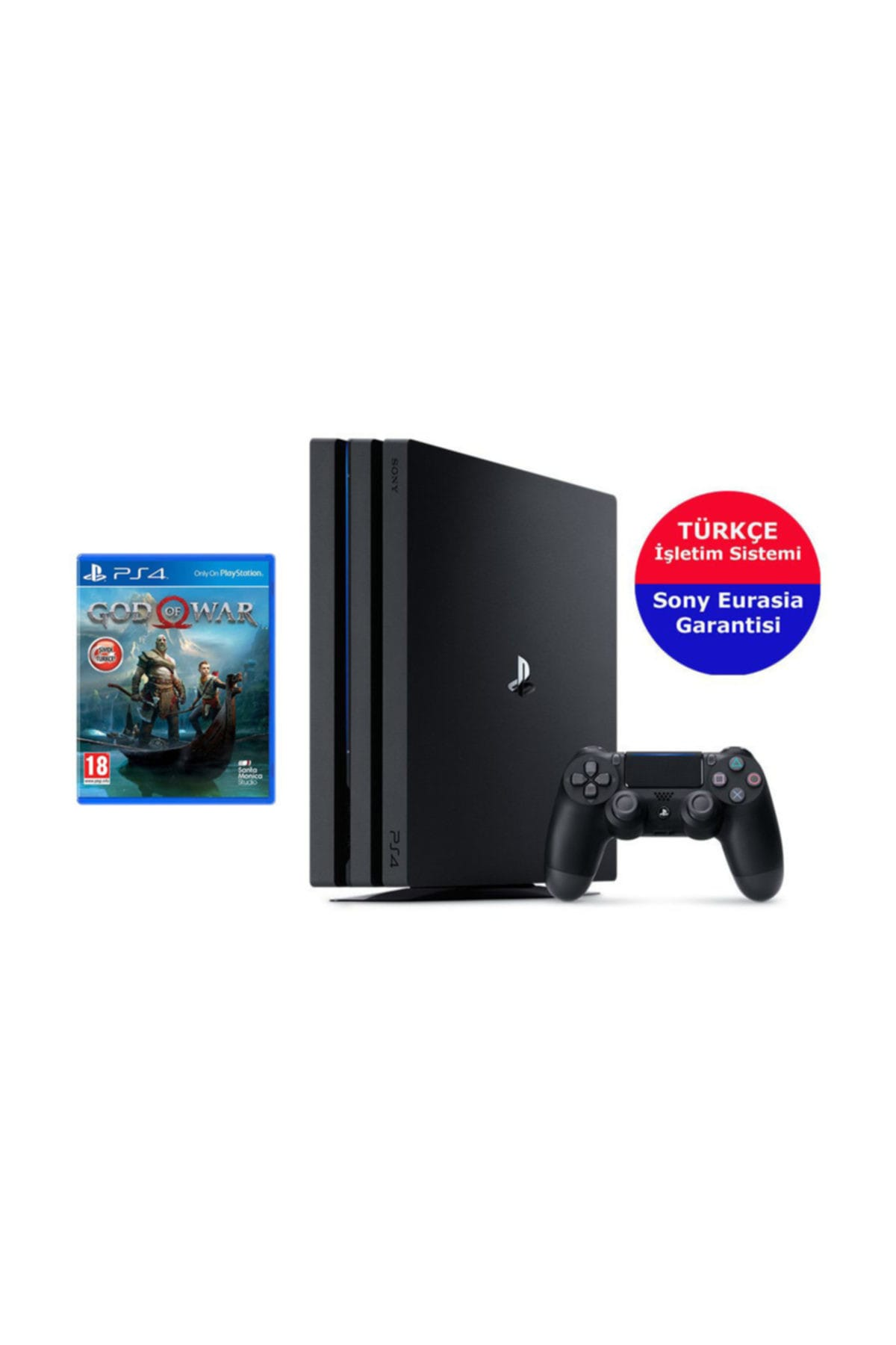Sony Ps4 Pro 1 Tb + God Of