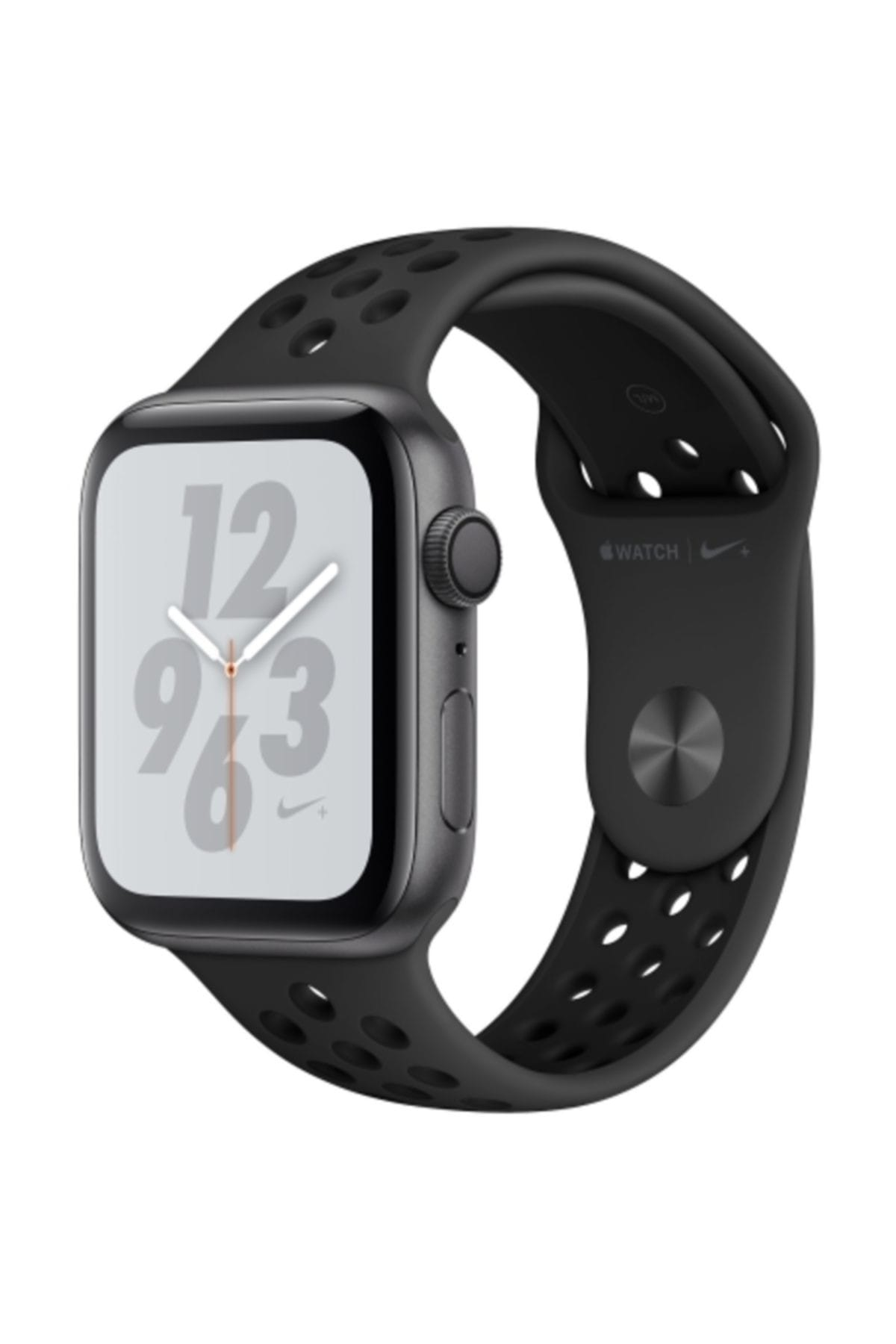 Apple Watch Nike+ Series 4 Gps 40 Mm Uzay Grisi Kasa Ve Antasit siyah Nike Spor Kordon
