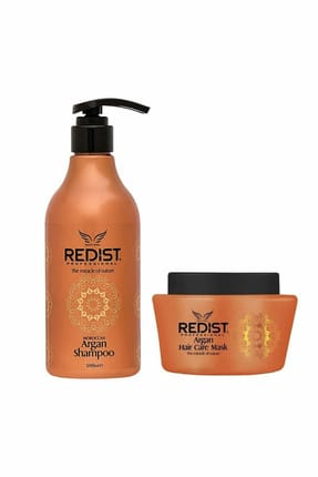 Redist Argan Şampuan 500 ml + Argan Maske 500 ml 9586235568559