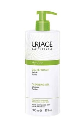 Uriage Hyseac Cleansing Gel 500 ml 3661434006098
