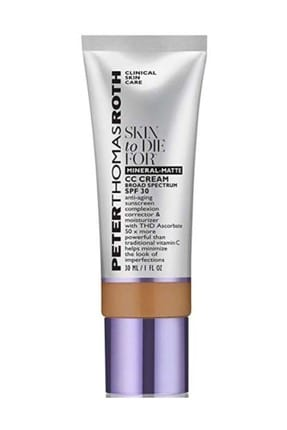 PETER THOMAS ROTH Mineral-Matte CC Cream SPF30 Tan 30 ml 670367009055